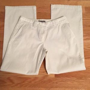Ann Taylor winter white trouser